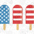 Icream american flag, America 4th Of July Patriotic Svg, American Svg, 4th Of