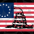 Fine Art America American Flag And Viper On Rusted Metal Door,America 4th Of