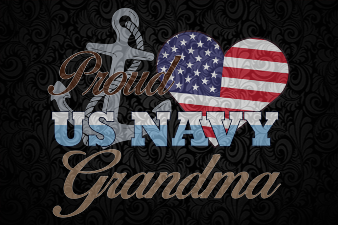Proud us navy grandma, America 4th Of July Patriotic , 4th Of July Svg, Fourth
