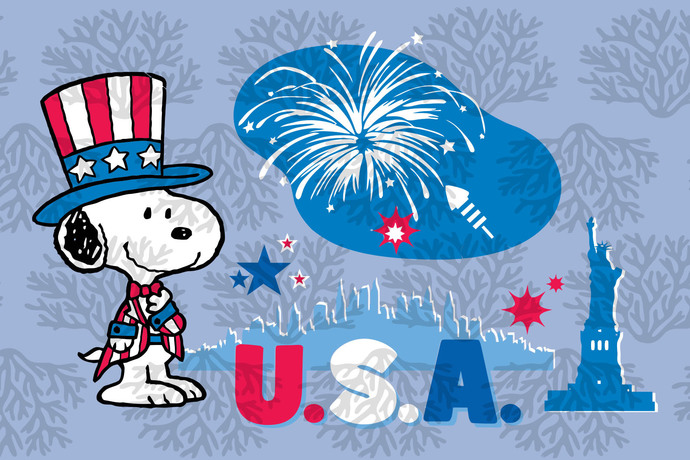 Snoopy dog independent american flag,American Svg, 4th Of July Svg, Patriotic