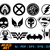 DC Marvel vector   Super Heros dxf   Symbol eps   png   cricut cut file  