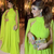 simple prom dresses long high neck dubai fashion elegant chiffon green new