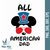 All American Dad Svg, American Dad, Father's Day, Mickey Svg, Disney, father,