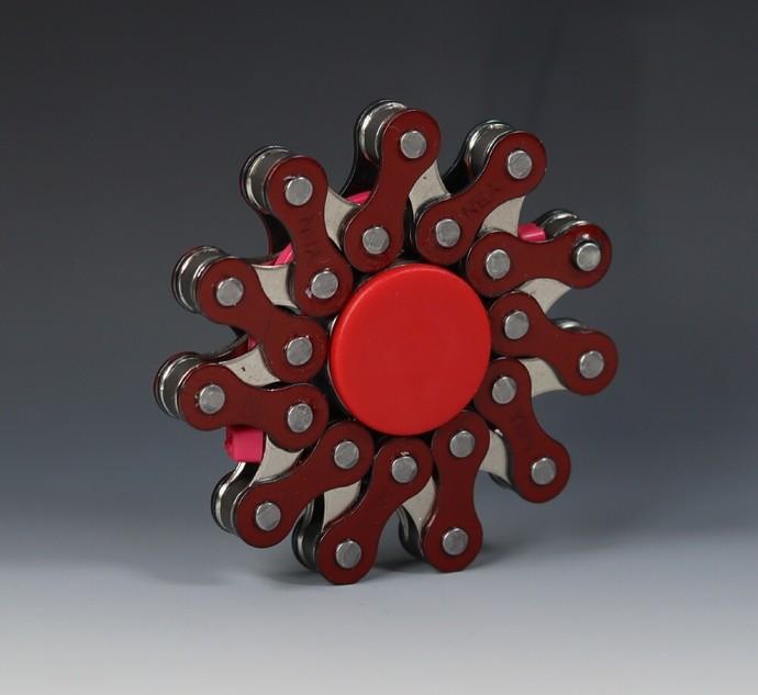 Chainsaw - Bike Fidget Spinner EDC Toy