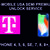 T-Mobile USA Network Unlock Service, Semi Premium, iPhone 4, 5, 6, SE, 7, 8, 8+