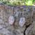 Handmade Redline Marble and Steel Hypoallergenic Earrings