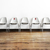 """No Seating Social Distancing Decal for Waiting Room Seating - 4"""" wide x 5"""" tall"""