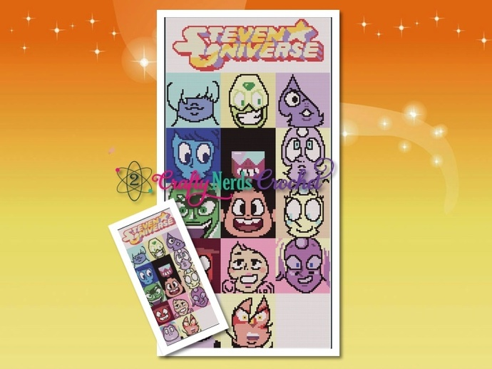 Full Steven Universe CAL Bundle with C2C Corner to Corner Written