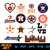 Houston Astros vector | Baseball dxf | eps | png | cricut cut file | separated