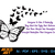 Butterfly Quotes vector | Quotes dxf | eps | png | cricut cut file | separated