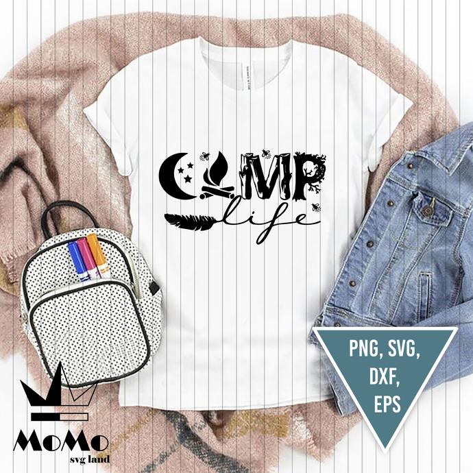 Camping Svg, Camp Life Svg, Camper Svg, Travel Svg, Camping quote Svg, Camper