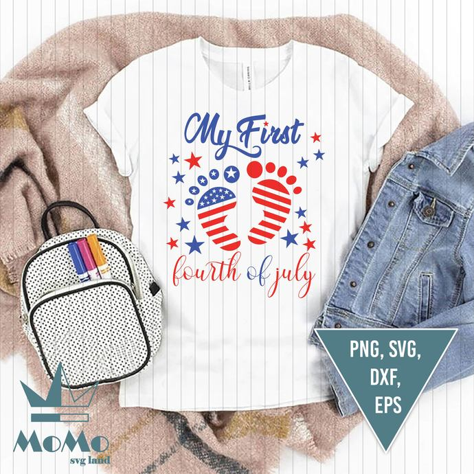 My first 4th of July Svg, Camper Svg, Travel Svg, Camping quote Svg, Camper