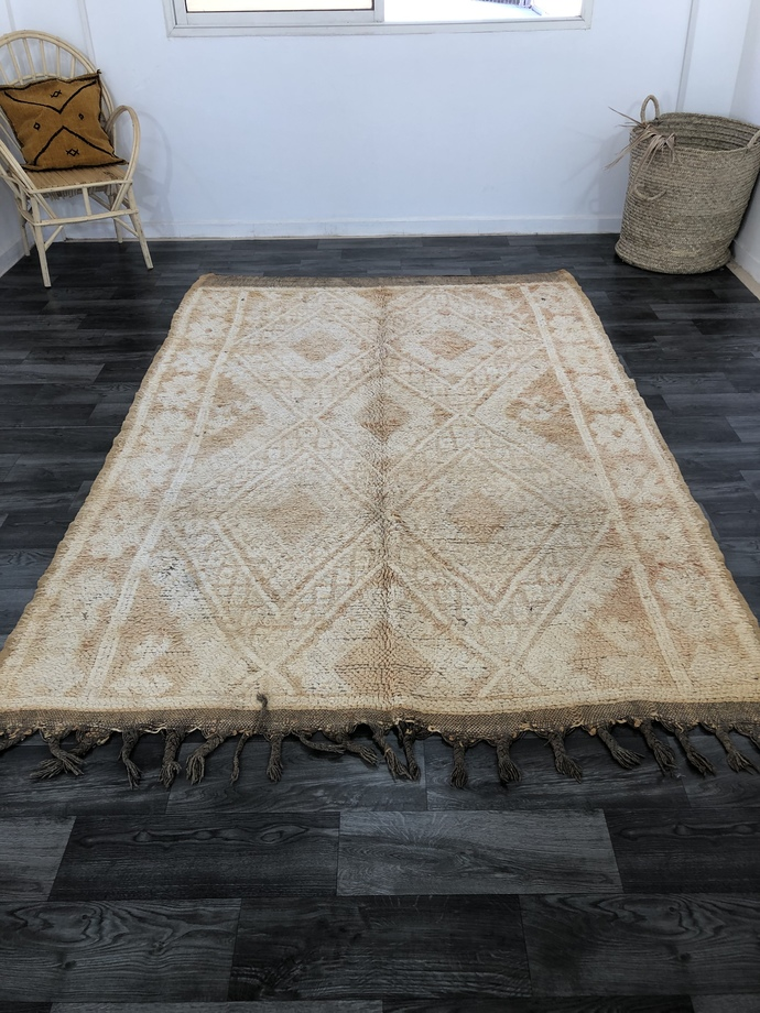 Vintage Boujaad rug, 100% handmade Moroccan Berber rug, unique vintage Berber