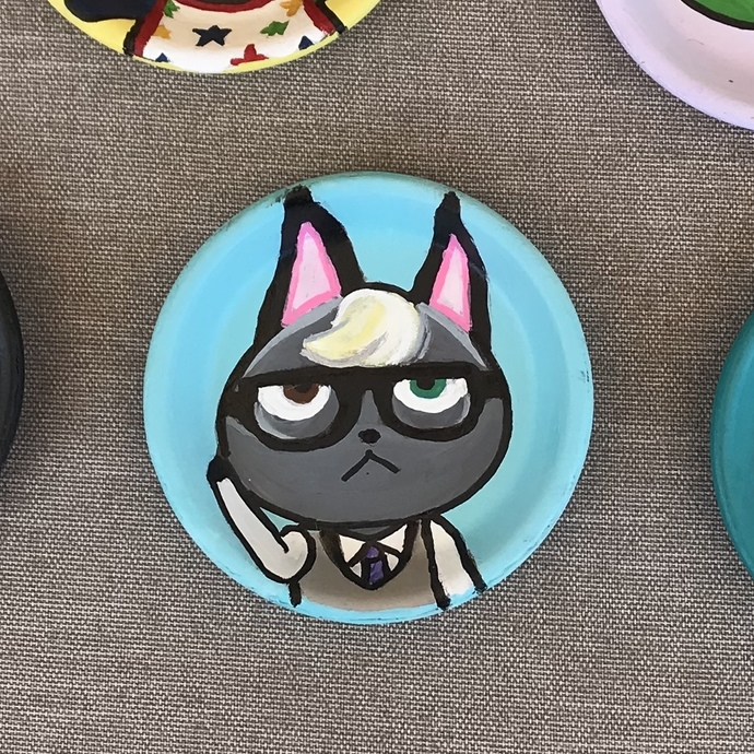 Video Game Character Dish