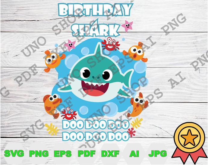 Baby Boy Shark Doo Doo Doo svg,Baby shark family instant download,Baby shark