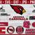 Arizona Cardinals SVG Layered Cut Files NFL Football Logos Digital Files for