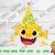 Baby Shark Hat Birthday svg,Baby shark Family instant download,Baby shark family