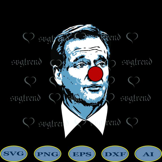 Clown Svg, Goodell Clown Svg, Roger Goodell Clown Svg, Roger Goodell is a Clown