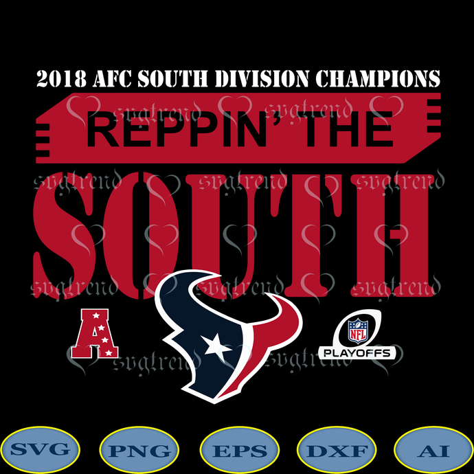 Texans Svg, Houston Texans NFL Svg, Texans Football SVG, Reppin' The South