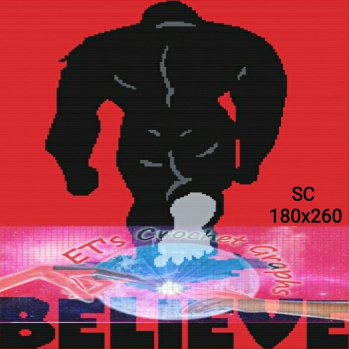 Believe Bigfoot - SC 180x260 includes