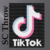 the ever popular Tik Tok SC Throw Size Graph, Color coded Block instructions