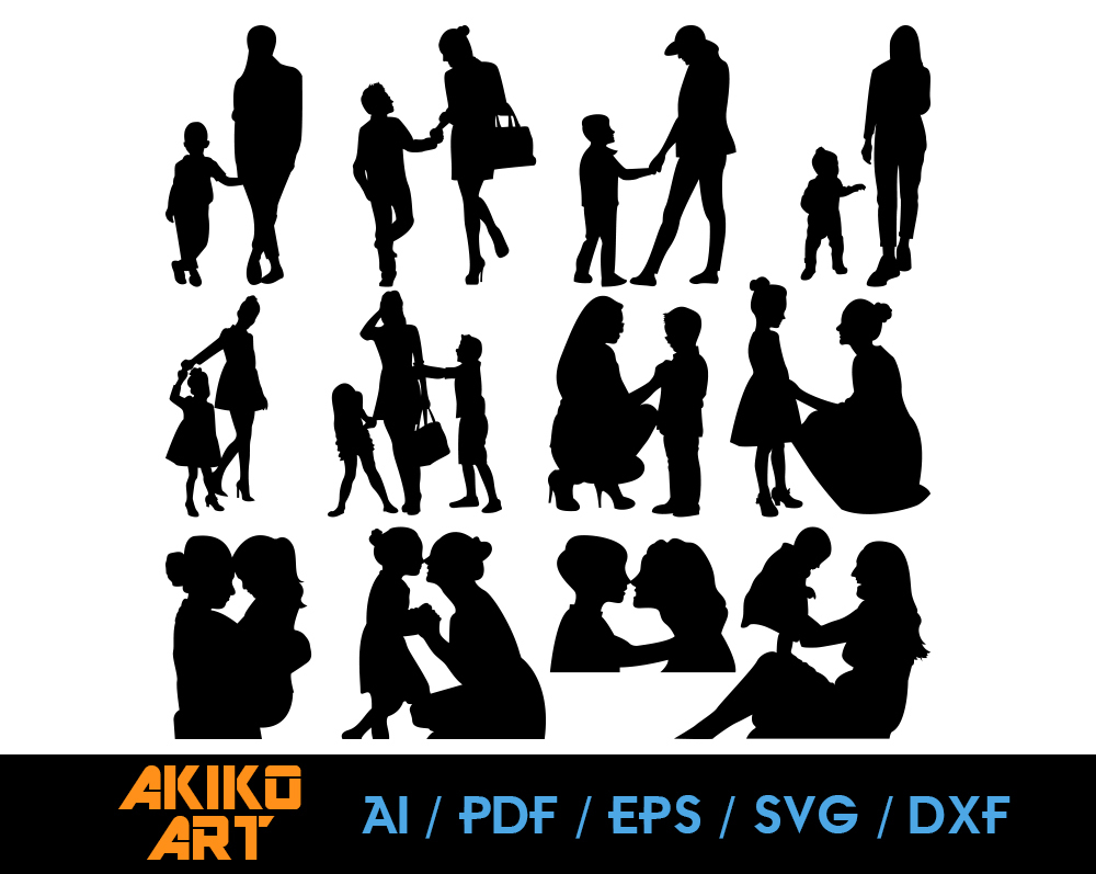 15+ Mother, Best Friend – Svg, Dxf, Eps Cut File DXF