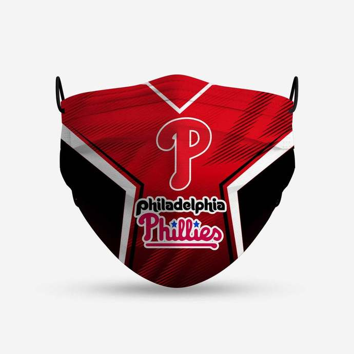 Philadelphia Phillies face mask, football, face protection, four layers,