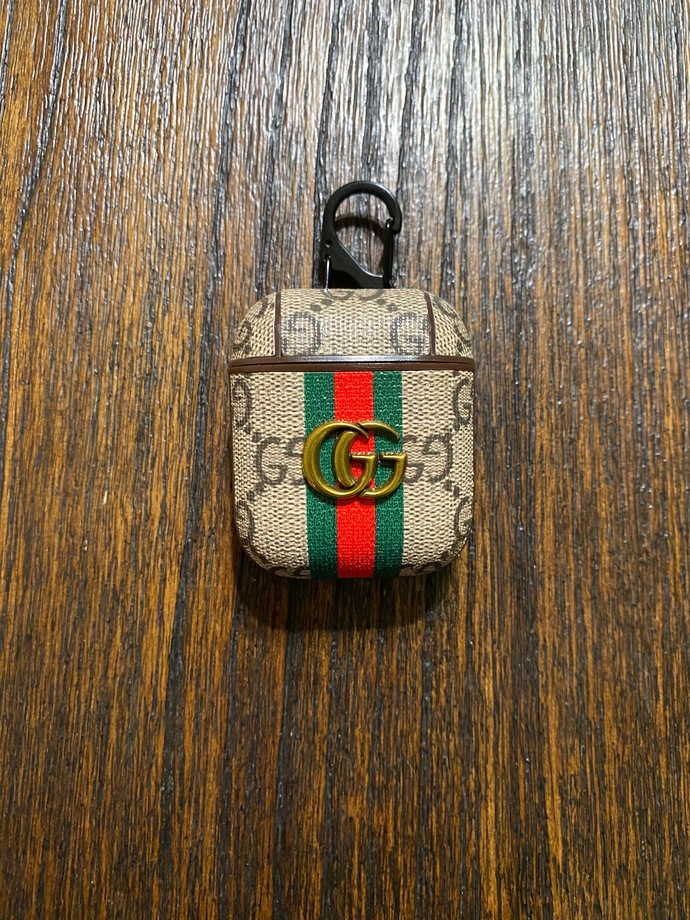 Gucci Luxury Airpods Case For Apple Airpods Gen 1 and 2