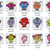 Little Miss Crochet Bundle CAL 15 blocks + Banner-SC-blocks 70x70, graph+written
