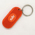 70s Nike Rubber Keychain Key Ring - RARE Vintage