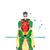 Damian Wayne Comics DC, superhero, Damian Wayne print poster, home decor,