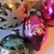 Vintage mercury glass Christmas ornaments  set 2