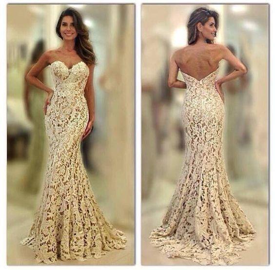vestido de novia de seria mermaid wedding dresses for women lace applique modest