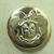 Vintage Metal Minnie Mouse Button
