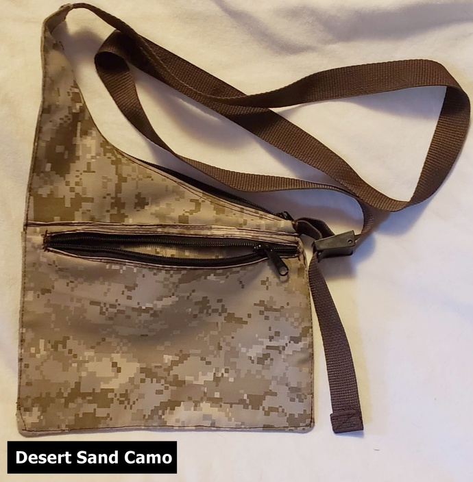 Camo Sling Bag/Shoulder Bag