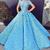 blue ball gown prom dresses 2020 sweet 16 dresses handmade flowers elegant