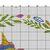 #519 Unicorn Animal kid's Modern Cross Stitch Pattern, wreath of flowers counted