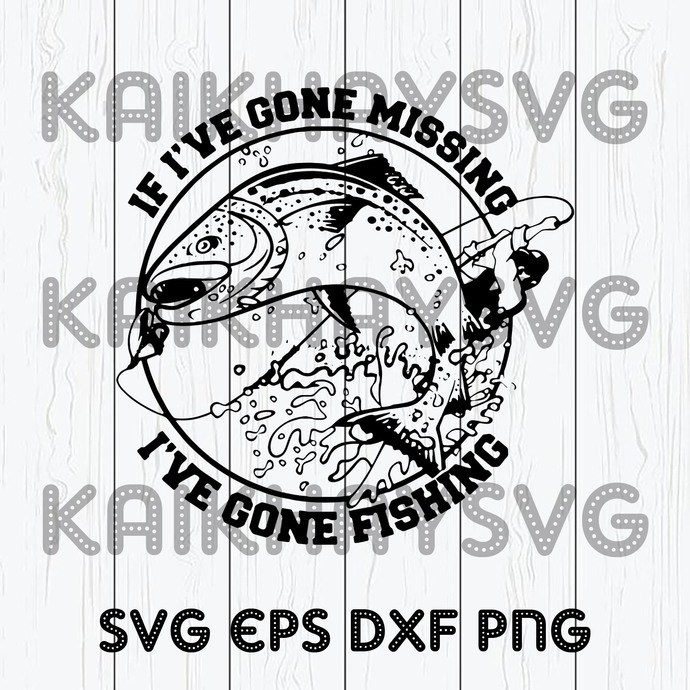 Download If I Ve Gone Missing I Ve Gone Fishing Shirt By Kaikhaystore On