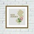 New Jersey state map flower ornament silhouette cross stitch pattern