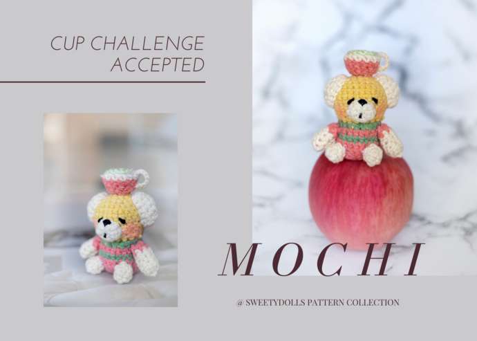 "MOCHI from ""SWEETYDOLLBOXES"" collection( Amigurumi crochet doll pattern)"