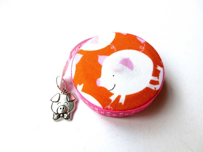 Measuring Tape This Little Piggy Small Retractable Tape Measure