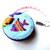 Measuring Tape Rainbow Fish Small Retractable Pocket Tape Measure