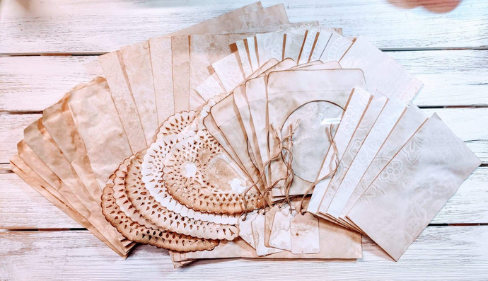 ***PRE-ORDER*** Coffee and Lace Paper Pack