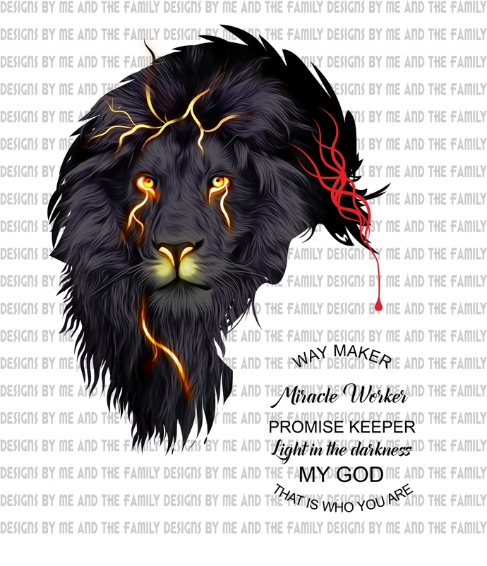 Thunder Lion no cross, Way maker, miracle worker, promise keeper, light in the