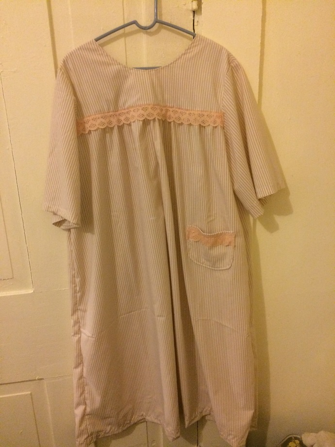 Budget & Simple Yoked Nightgown