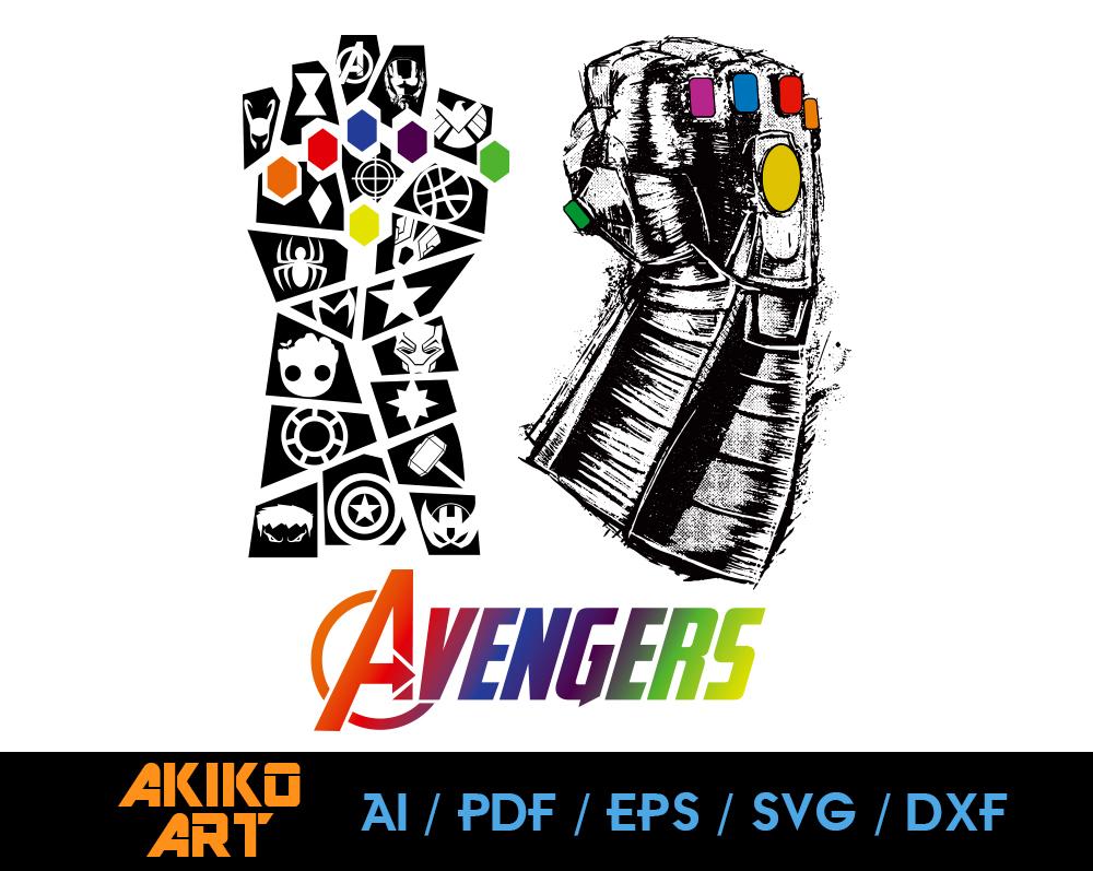 Avengers Vector Super Heros Dxf Eps Png By Akiko Art On Zibbet
