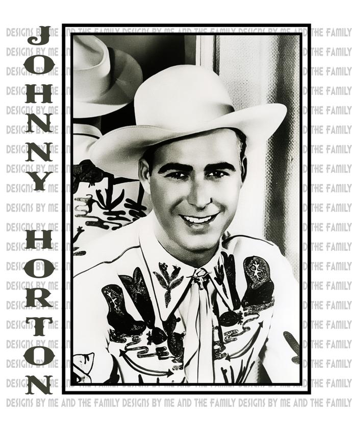 Johnny Horton, the singing fisherman, country music legend, honky-tonk,