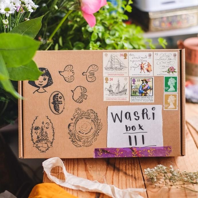 *PRE-ORDER* Washi subscription BOX III - quarterly washi tape subscription box