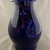 """Jar with lid in deep blues - 8 1/2"""" X 5"""""""