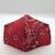 FACE MASK, Bandana, 100% Cotton, 3-Layers, Handmade, Machine Washable/Dryable,